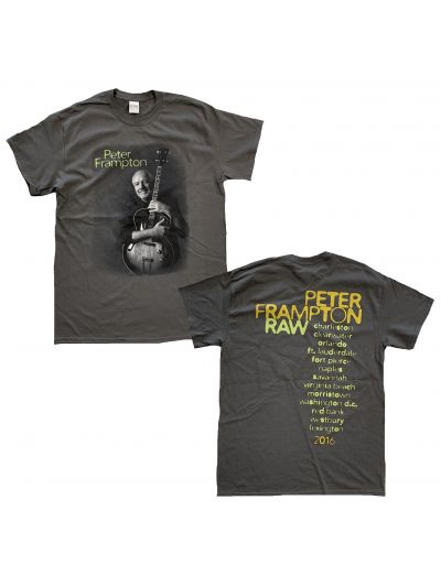 Peter Frampton - Raw Photo 2016 Itin T-Shirt