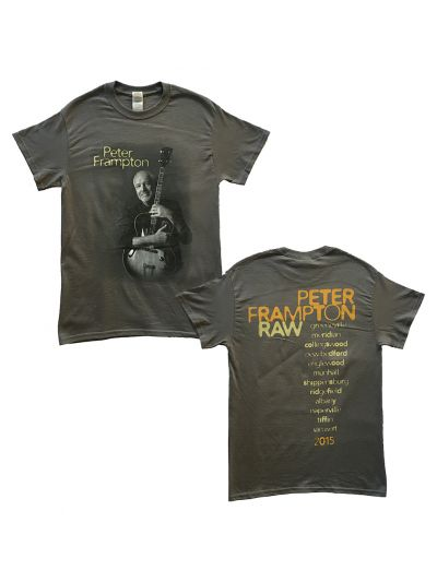 Peter Frampton - Raw Photo 2015 Itin T-Shirt