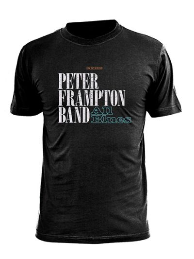 Peter Frampton - All Blues T-Shirt